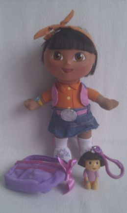 Adorable 'Dora the Explorer' Plush Playtime Doll